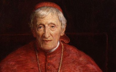 WITH NEWMAN, THE CHURCH GAINS ITS 'SAINT FOR MODERN TIMES'