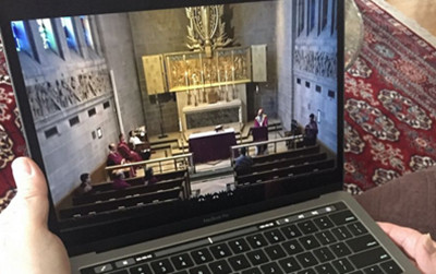 MASSES GO DIGITAL WITH LIVESTREAMED SERVICES; FIND OUT HOW TO JOIN